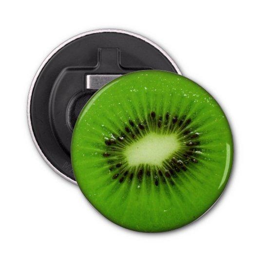 Kiwi Fruit Fresh Slice - Bottle Opener Button Bottle Opener