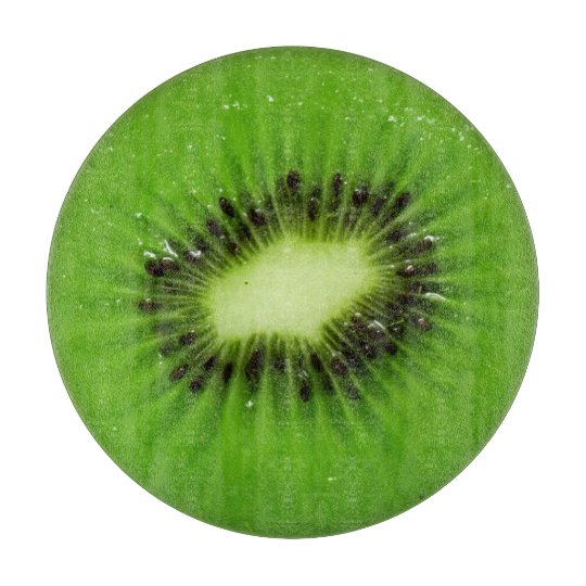 Kiwi Fruit Fresh Slice - Cutting Board