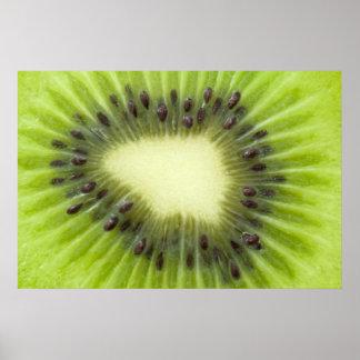 Kiwi fruit. poster
