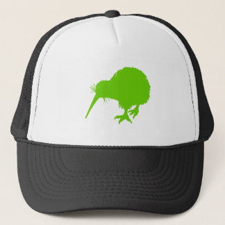 Kiwi Green Bird Trucker Hat