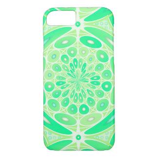 Kiwi green geometric iPhone 7 case