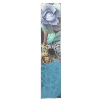 """Kiwi Lifestyle"" - A Touch of Blue Short Table Runner"