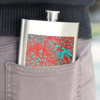 """Kiwi Lifestyle"" - Pohutukawa NZ Bloom Huee Flasks"