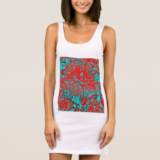 """Kiwi Lifestyle"" - Pohutukawa NZ Bloom Huee Sleeveless Dress"