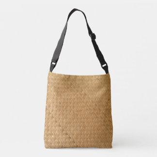 """Kiwi Lifestyle"" Woven Native Crossbody Bag"