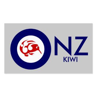 Kiwi Roundel Business Card Templates