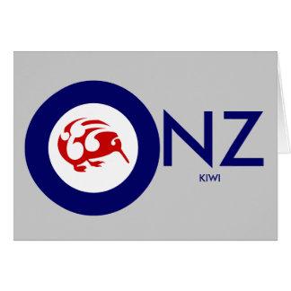 Kiwi Roundel Greeting Card