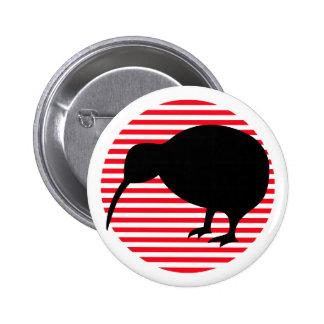 KIWI silhouette 2 Inch Round Button