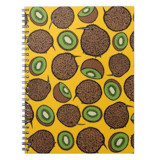 Kiwi Spiral Notebook