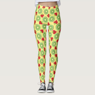 Kiwi Strawberry Leggings