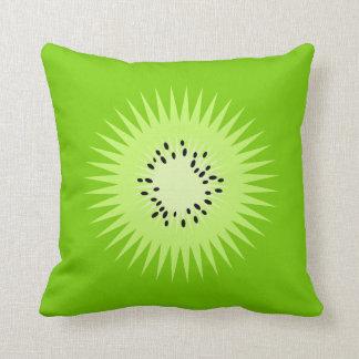 Kiwi Summer Fun Throw Pillow
