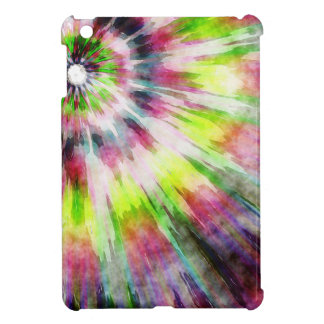 Kiwi Tie Dye Watercolor iPad Mini Cases
