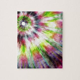 Kiwi Tie Dye Watercolor Puzzles