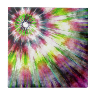 Kiwi Tie Dye Watercolor Tiles