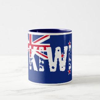 Kiwi Two-Tone Coffee Mug