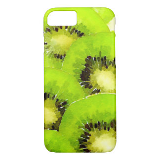 Kiwi | Watercolor Fruit Picture iPhone 7 Case