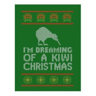 Kiwi Xmas Postcard