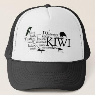 Kiwiana hat - iconic New Zealand animals