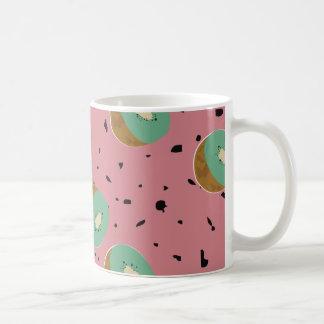 Kiwis pattern coffee mug