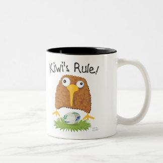 """""""Kiwi's Rule"""" Rugby Mug"""