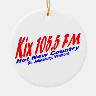 Kix 105.5 FM Ornament