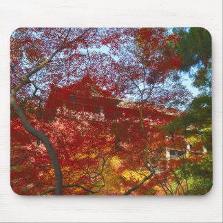 Kiyomizu-dera Through the Leaves Mouse Pad