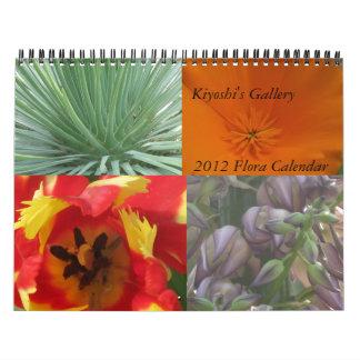 Kiyoshi's Gallery 2012 Flora Calendar