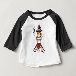 Kiyouko junior high school 24th grade English Baby T-Shirt