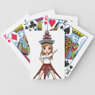 Kiyouko junior high school 24th grade English Poker Deck