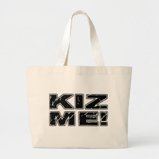 Kiz Me Kizomba Large Tote Bag