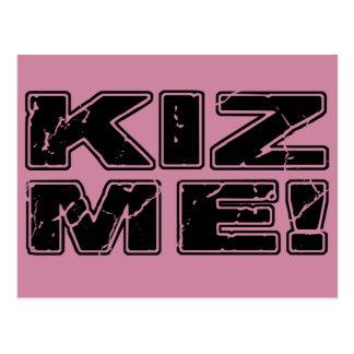 Kiz Me Kizomba Postcard