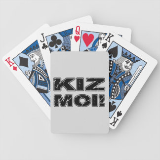 Kiz Moi! Kizomba French Bicycle Playing Cards