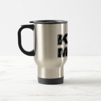 Kiz Moi! Kizomba French Travel Mug