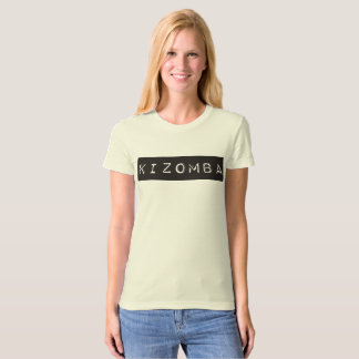 Kizomba black T-Shirt