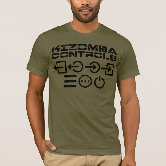 Kizomba Controls t-shirt