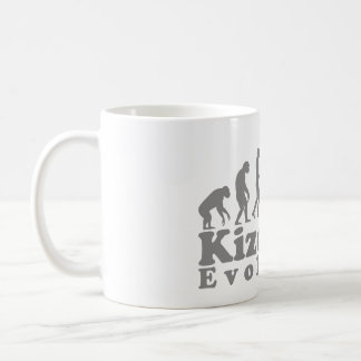 kizomba couple grey coffee mug