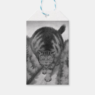 Kjat Monster Kitty Gift Tags