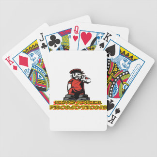 KJP Logo Bicycle Playing Cards