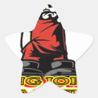 KJP Logo Star Sticker