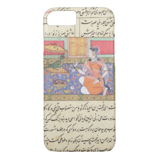 Kjujista, the Merchant's Wife, talking to a Parrot iPhone 7 Case