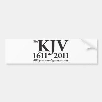 KJV Still Going Strong in black Bumper Stickers
