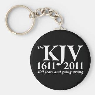 KJV Still Going Strong in white Basic Round Button Keychain