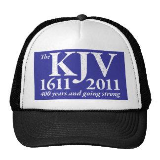 KJV Still Going Strong in white distressed Trucker Hat
