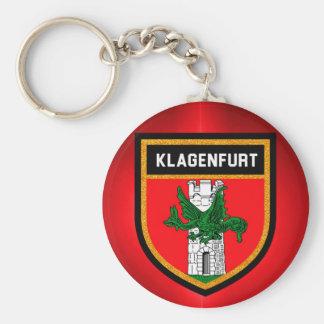 Klagenfurt Flag Keychain