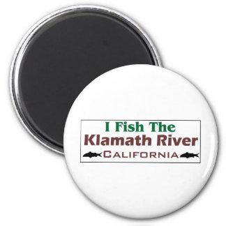 klamath River 2 Inch Round Magnet