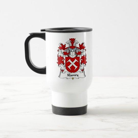 Klamry Family Crest Travel Mug