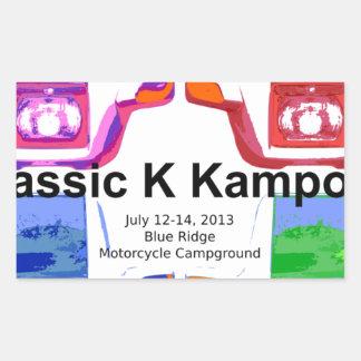 Klassic K kampout VI 2013 Sticker