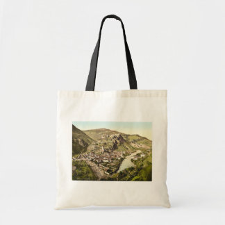 Klausen, general view, Tyrol, Austro-History magni Tote Bag
