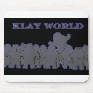 Klay World Black Glow MousPad Mouse Pad