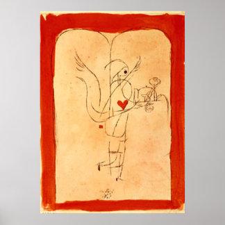 Klee - A Spirit Serves a Small Breakfast Poster